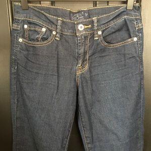 4(27R) Lucky Brand-Sweet'n low dark wash jeans